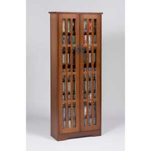 Mission Medium Walnut Multimedia Cabinet