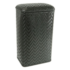 Elegante Black Apartment Hamper