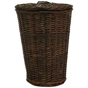 Willow Round Espresso Hamper