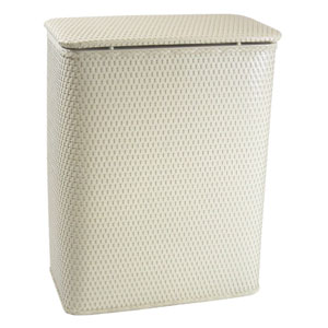Chelsea Cream Decorator Color Wicker Hamper