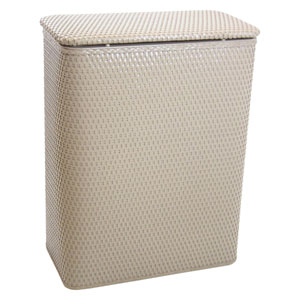 Chelsea Mocha Decorator Color Wicker Hamper