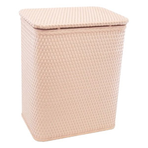 Chelsea Tea Rose Decorator Color Wicker Hamper