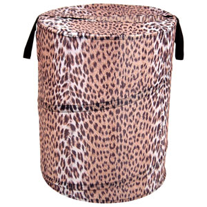 Original Bongo Bag Cheetah Pattern Pop Up Hamper