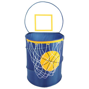 Original Bongo Bag Bongo Buddy Navy Basketball Pop Up Hamper