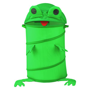 Original Bongo Bag Green Frog Pop Up Hamper