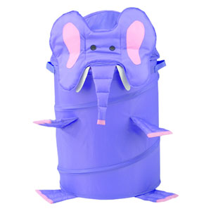 Original Bongo Bag Lavender Elephant Pop Up Hamper