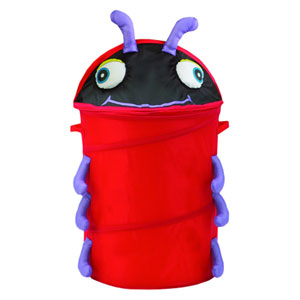 Original Bongo Bag Red Lady Bug Pop Up Hamper