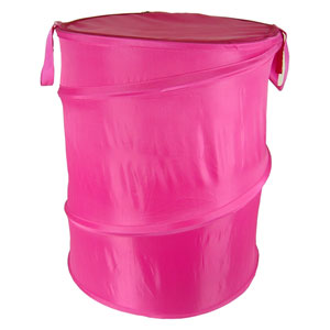 Original Bongo Bag Hot Pink Pop Up Hamper