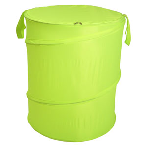 Original Bongo Bag Lime Green Pop Up Hamper