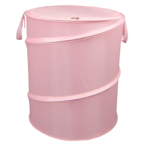 Original Bongo Bag Pink Pop Up Hamper