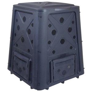 Green Culture Black 65-Galllon Compost Bin PLUS The Original Wingdigger Combo Set