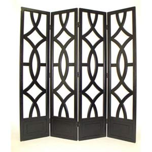 Wood Lattice Screen