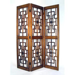 Brown Red Chamber Screen