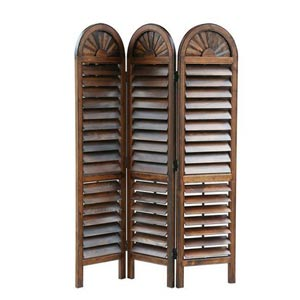 Brown Royal Venetian Screen