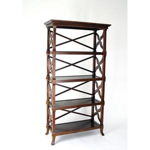 Brown Charter 60-Inch Book Stand
