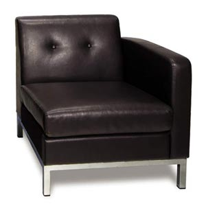 Wall Street Single Armchair - Right Arm Facing