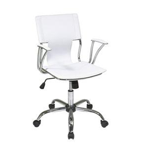 Dorado White Office Chair