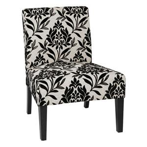 Laguna Chair Laguna Chair with Black Legs in Paradise Fabric