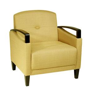 Main Street Woven Wheat Chair