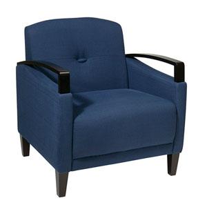 Main Street Woven Indigo Chair