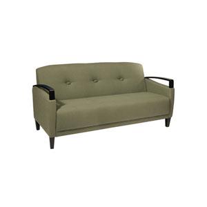 Main Street Sofa in Woven Seaweed Fabric