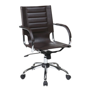 Trinidad Espresso Office Chair