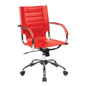 Trinidad Red Office Chair