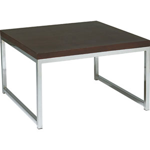 Wall Street 28-Inch Accent Corner Table