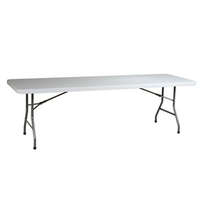 Work Smart Eight Foot Resin Multi Purpose Table