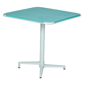 Albany Pastel Teal 30-Inch Square Folding Table