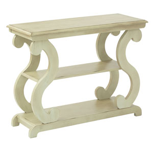 Ashland Console Table in Antique Celedon Finish