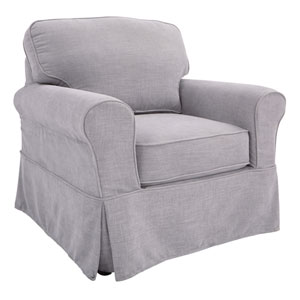 Ashton Chair with Fog Slip Cover