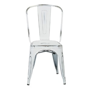 Bristow Antique White Armless Chair, Set of 4