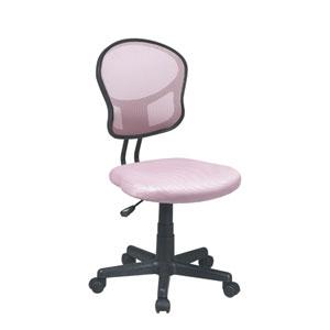Pink Mesh Task Chair