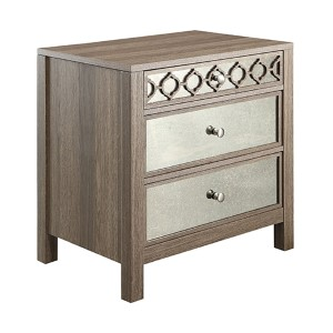 Helena Greco Oak Three Drawer Cabinet