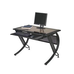 Horizon Black Textured Desk