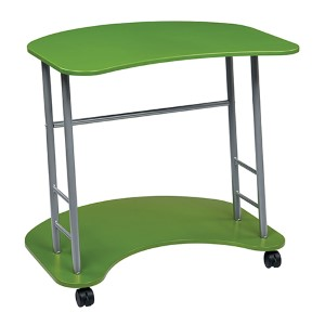 Kool Kolor Green Computer Desk