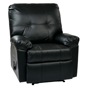 Kensington Black Recliner