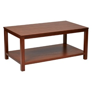 Merge Cherry Rectangular Cocktail Table