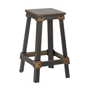 New Castle Antique Copper 26-Inch Barstool