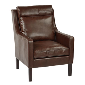 Colson Cocoa Arm Chair
