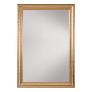 White Gold Wall Mirror