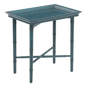Salem Blue Folding Serving Tray