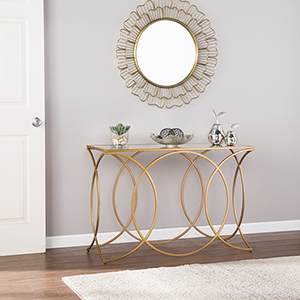 Denise Eclectic and Glam Console Table