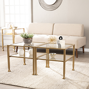 Jaymes Soft Gold Cocktail Table