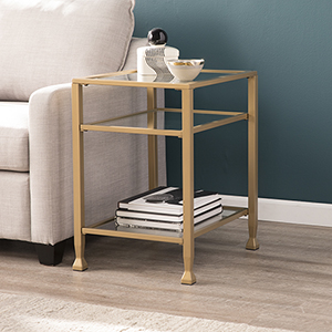 Jaymes Soft Gold End Table