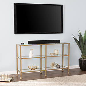 Jaymes Soft Gold Console Table