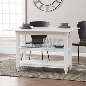 Alverton White Dining Table
