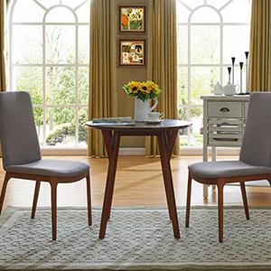 Shannon Dark Sienna Dining Table