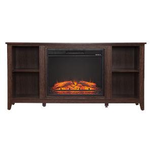 Parkdale Espresso Electric Fireplace
